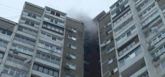 В Киеве в многоэтажке произошел масштабный пожар. Фото