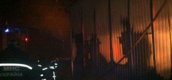 Под Киевом сгорела котельная