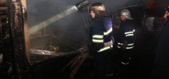 Пожар в Днепре: горели МАФы. Фото