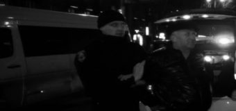 В Запорожье пьяный подполковник полиции попал в ДТП и «качал права»