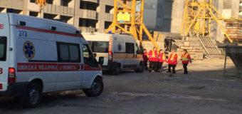 ЧП на киевской стройке: пострадали два человека