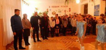 Под Одессой с песнями и плясками открыли школьный туалет. Фото