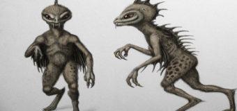 В Аргентине заметили существ с чешуйчатыми спинами