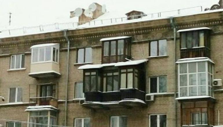 Киевляне в шоке от громадного балкона в районе Соломенки. Фото