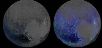 На Плутоне есть признаки льда и снега