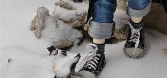 В Киеве 13-летний подросток обморозил пальцы ног