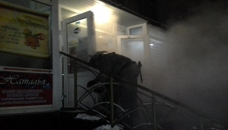 Новый год в запорожской бане начался с пожара
