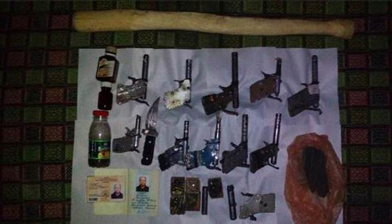Под Одессой пенсионер вооружился «до зубов»