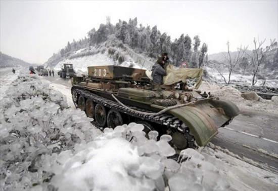 Воины АТО во льду: фото поразили пользователей сети