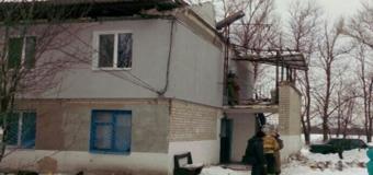 На Днепропетровщине рухнула крыша многоквартирного дома