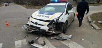 В Днепре патрульные за год разбили 17 автомобилей