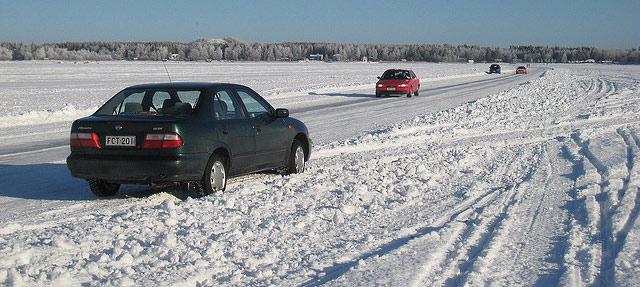 На украинских дорогах возникла сложная ситуация