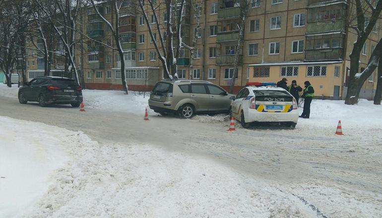 ДТП в Харькове: двое патрульных попали в больницу