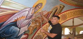 Одесский художник расписал два храма в Афинах и иконостас в Лас Вегасе. Фото