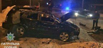Харьковские сотрудники СТО угнали авто и попали в крупное ДТП