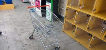 За угон тележки из супермаркета на Харьковщине вору грозит тюрьма