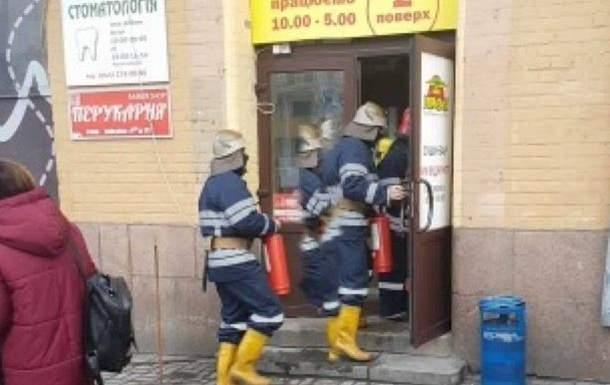В Киеве пылал крупный рынок. Фото