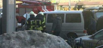Жуткая авария в Киеве: автобус горел в пути