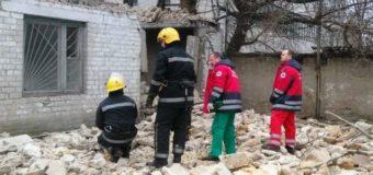 На Херсонщине из-за обрушения стены дома погибли люди. Фото