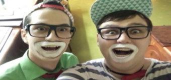 В Одессе клоуны спасли девушку от грабителя