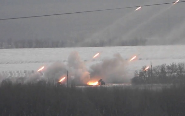 СМИ удалось выяснить местоположение Градов, обстреливающих Авдеевку. Видео