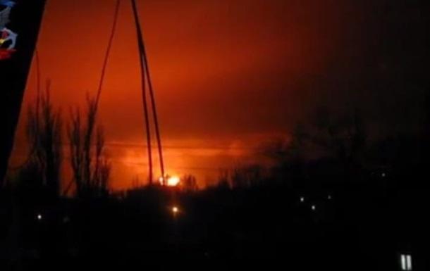 В Донецке около 21:15 прогремел мощнейший  взрыв