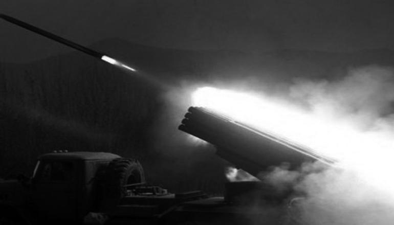 Боевики из «Градов» обстреляли Сартану