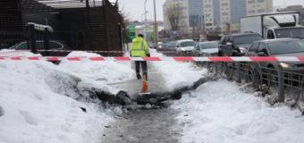 В Киеве под землей произошел мощный взрыв, есть пострадавшие