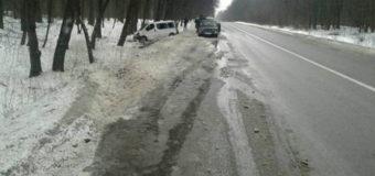 Микроавтобус с пассажирами разбился на Львовщине