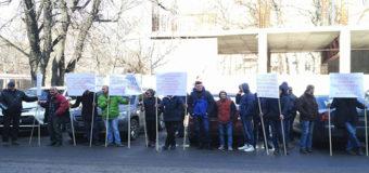 В Одессе митинговали рабочие. Фото