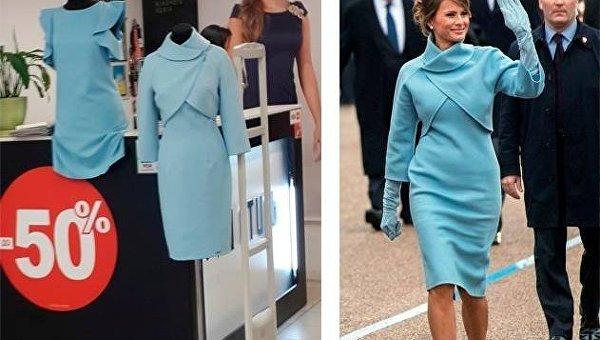 Жена Трампа одевалась на киевском рынке