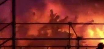 Из-за пожара в китайском кинотеатре эвакуированы почти 1000 человек