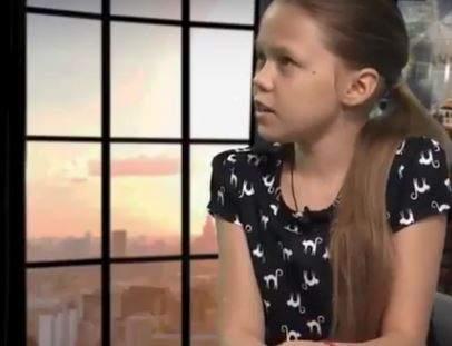 Девочка с Донбасса покорила россиян правдой жизни. Видео
