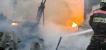 На Запорожье в доме с шестью детьми вспыхнул пожар