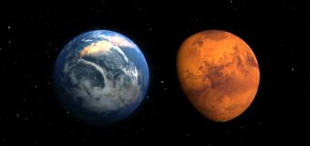 Ученые из США назвали дату столкновения Земли с Марсом