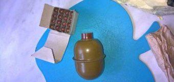 В запорожской школе на площадке нашли гранату