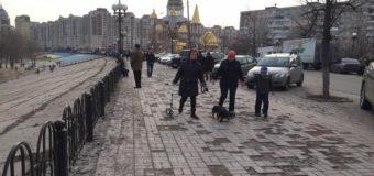 Весенняя набережная Киева ужаснула Сеть. Фото