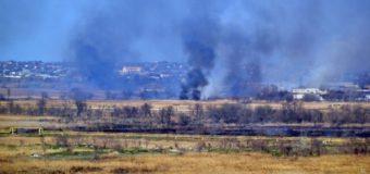 В Одессе произошел масштабный пожар на Объездной дороге. Видео