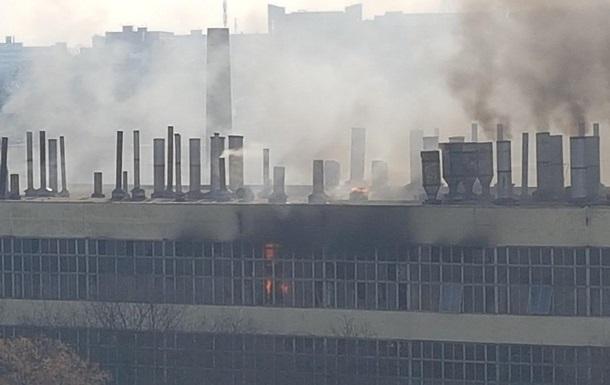 В Харькове на велосипедном заводе произошел пожар