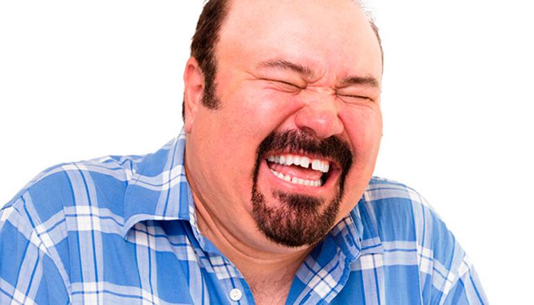 Смех влияет на снижение веса