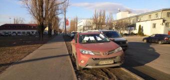 Киевский «баран» на авто взбесил Сеть
