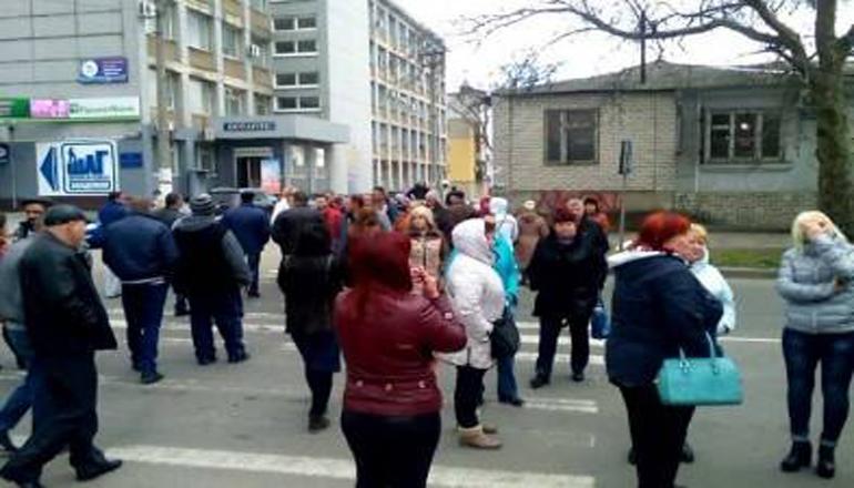 В Херсоне бунтуют продавцы мяса