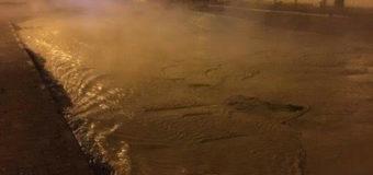 Залитые кипятком киевские улицы шокировали Сеть. Фото
