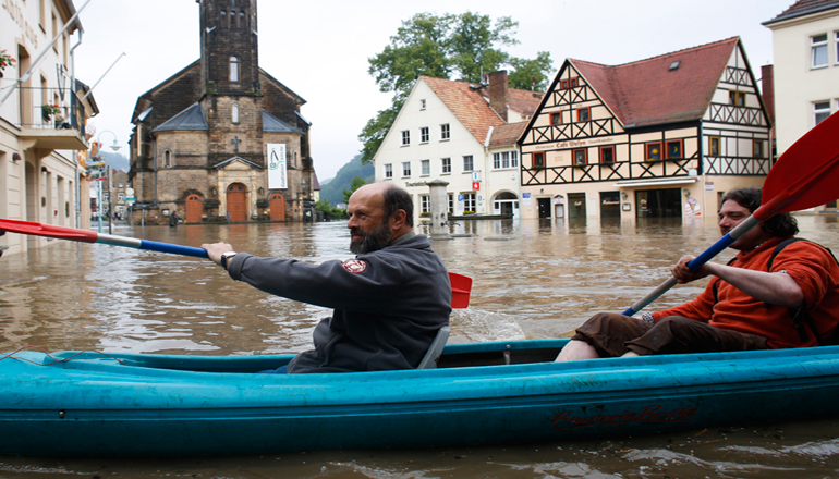 Ученые заявили, что Европу покроют ежегодные наводнения