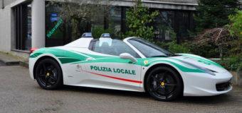 В автопарке миланской полиции появился спорткар мафиозного лидера