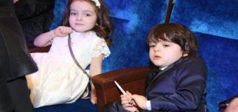 Дети Филиппа Киркорова поздравили православных христиан с Пасхой. Видео