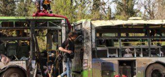 В Сирии взорвалась автоколонна: погибли около 70 детей
