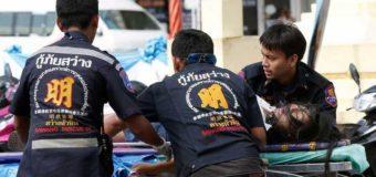 В Таиланде прогремело 13 взрывов