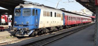Грузовой поезд сошел с рельсов в Румынии