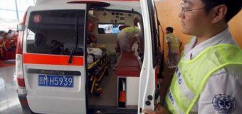 В масштабной аварии в Китае столкнулись 40 автомобилей: семь погибших